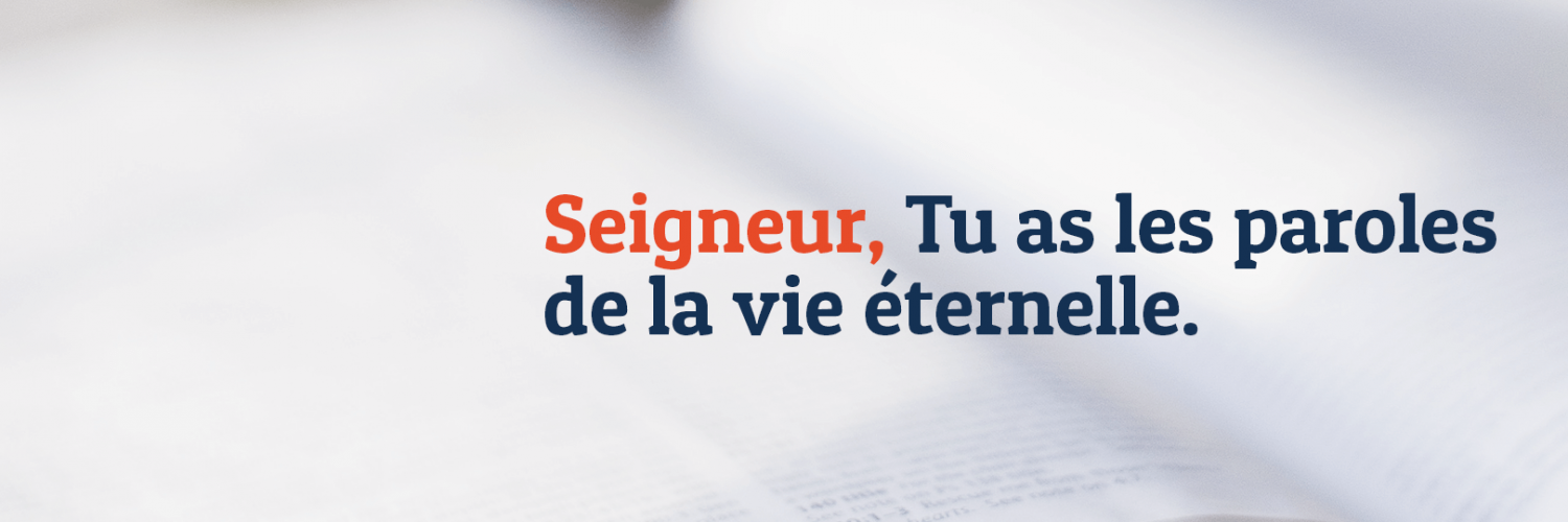 Paroles de la Bible - A Propos